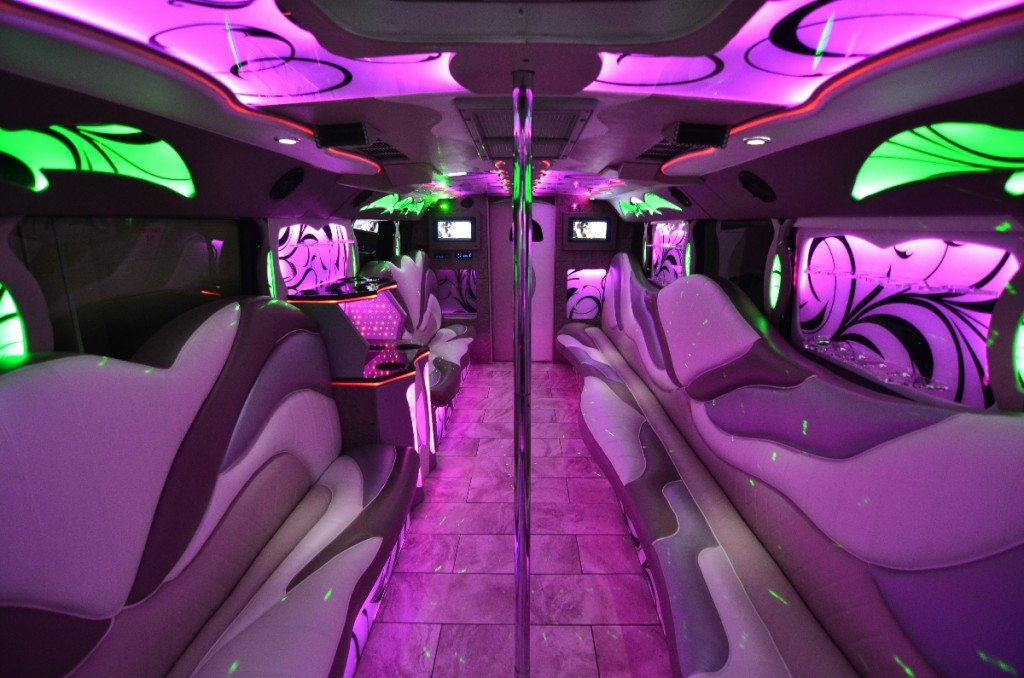 Miami's Best Party Bus Rentals