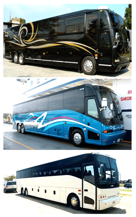 Charter Bus Miami Shores FL
