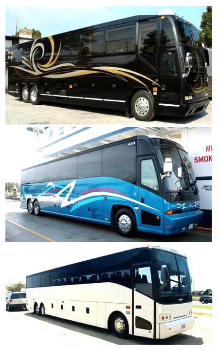 Charter bus Key Biscayne FL